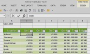 Excel's Table feature